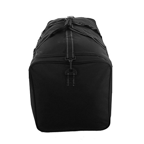 Grande borsa da viaggio cargo sport weekend Business Big Carry borsone bagaglio Black
