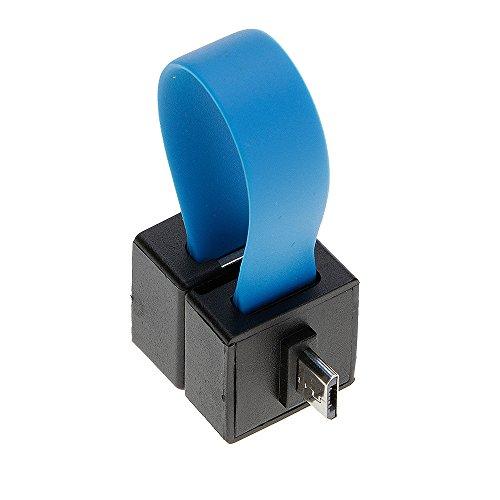 mmrm Tragbares Akku Ladegerät Ultra Mini AA/AAA Akku Powered Notfall Handy Ladegerät Reisen Backup Ladegeräte für Android Smartphones, blau (Externer Akku Für Samsung S3)