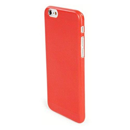 Tucano IPH64T-CR Tela Custodia per Apple iPhone 6, Corallo Corallo