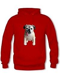 Women's Funny Dog/Puppy Pattern Pullover Hoodies Sweatshirts