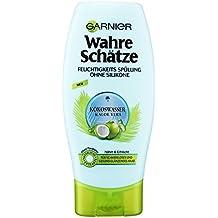 Garnier Wahre Schätze Spülung Kokoswasser, 6er Pack (6 x 200 ml)
