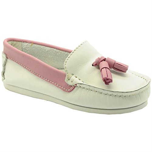 BABATY , Mocassins pour fille Blanc