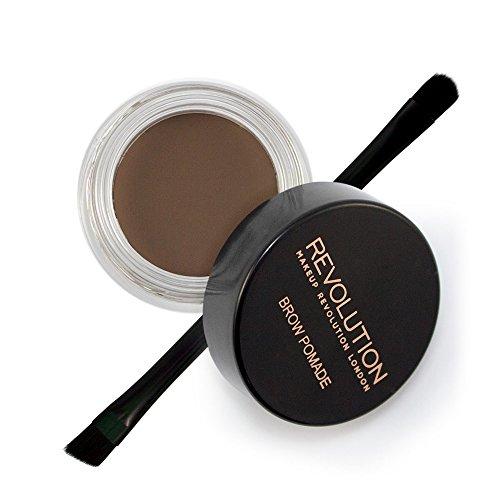 Makeup Revolution Brow Pomade Mit pinsel - Ash Brown, 3 g