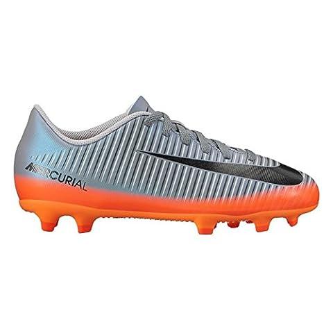 Nike Unisex-Kinder Jr Mercurial Vortex Iii Cr7 FG Fußballschuhe, Grau (Cool Grey/Mtlc Hematite-Wolf Grey-Total), 38