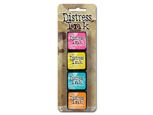 Distress Mini Ink Kits-Kit 1 -