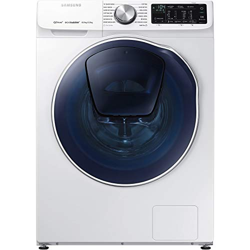 Samsung WD80N645OOW QuickDrive 8kg Wash 5kg Dry Freestanding Washer Dryer  With EcoBubble And AddWash 704578e96249