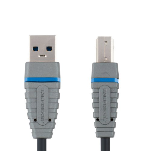 Bandridge 1 m SuperSpeed USB A-B 3.0 Gerät Kabel -