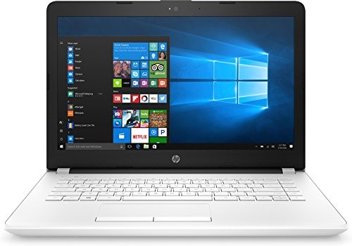 HP Notebook 14 AMD A 14 inch SVA White