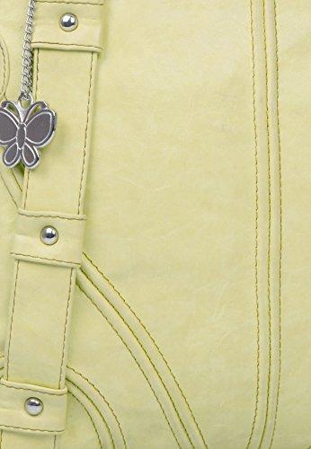 Butterflies Kunstleder Umhängetasche Frauen Mehrzweckhandtasche Sahne