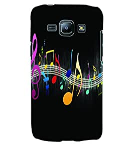 Colourcraft Music Wallpaper Back Case Cover For Samsung Galaxy J1