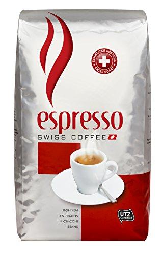 Swiss Coffee Espresso Ganze Kaffeebohnen, 1 kg