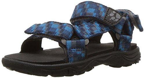 Jack Wolfskin Seven Seas 2 Sandal B, Sandlai Sportivi Bambino, Blu (Glacier Blue 1121), 32 EU