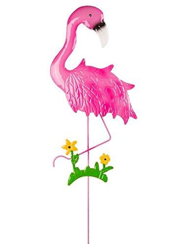 Objektkult Metall-Gartenstecker Flamingo versch. Modelle, Farbe:gelb