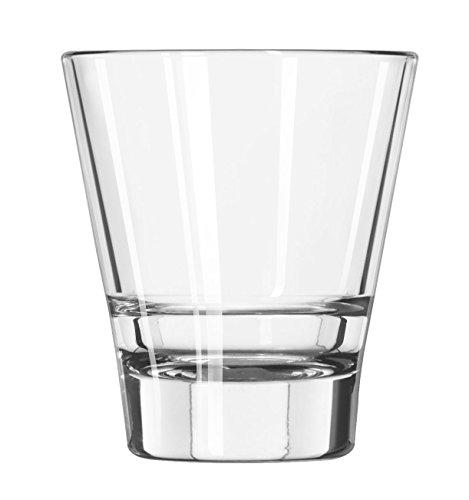 12 x Trinkglas, Whiskyglas, Glas, transparent, 20 cl, Ø 8.3 cm, Höhe: 9.2 cm Libbey Tumbler Set