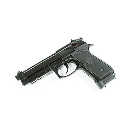 AIRSOFT KJ WORKS Pistole M9A1mit Schiene Semi Automatische CO2& Zylinderkopfdichtung Mobile Alles Metall (0,5Joule) (Semi-automatische Pistole)