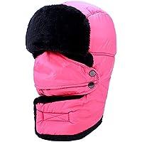 Zxcvb Lei Feng Hat Invierno Ciclismo al Aire Libre Sombrero a Prueba de Viento Hombres y Mujeres Máscara Espesa Locomotora de algodón Caliente Cap (Color : Segundo, tamaño : One Size)