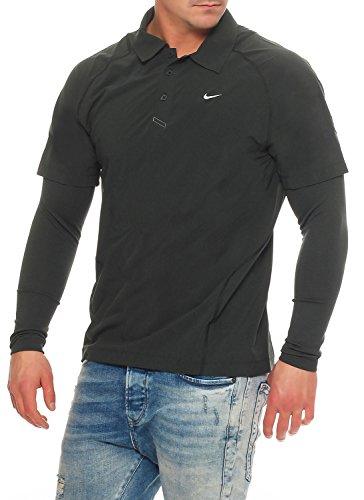 NIKE Herren Golf DRI-FIT WARM MOTION LAYER Longsleeve (Golf Nike Windshirt)