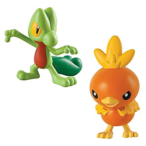 Tomy Pokémon - T18447 - Figurine de Combat Arcko Vs Poussifeu