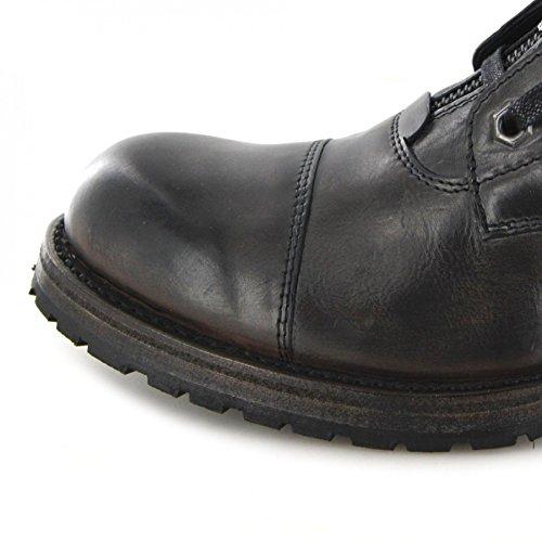 Sendra Boots Stiefel SASCHA Urban Boot Schnürstiefel Vibrant Grigio