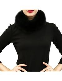 Samber Bufandas de Cuello Mujer Estolas de Pelo Sintético para Fiesta Collar para Decorar Vestidos