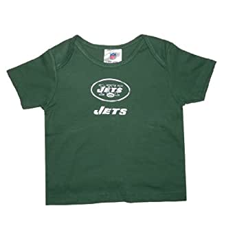 NFL New York Jets Infant Baby Comfortable Fit Short Sleeve T-Shirt / Tee (Size: 0-3 )
