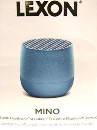 Lexon Mino Tragbarer Bluetooth-Lautsprecher, Himmelblau - Bluetooth-lautsprecher Fernauslöser
