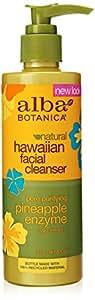 Alba Botanica Mousse nettoyante pour le visage - A base d'enzymes de papaye et d'ananas - 250 ml