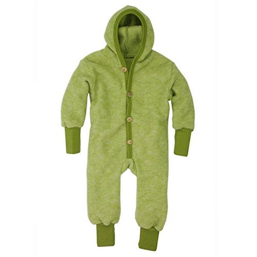 Cosilana Overall, Größe 62/68, Farbe Lindgrün melange - Wollbody®