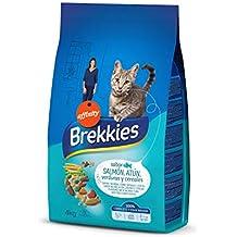 Brekkies Pienso para Gatos con Salmón Atún y Verdura ...