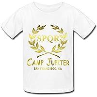 Big Boys'/Girls' Camp Jupiter SPQR T-Shirt - WhiteYILIAX10389XXXX-L