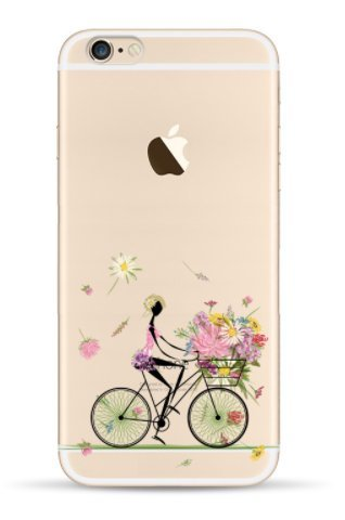 Coque rigide IPHONE 5c - Tansparente avec motif drole DESIGN case + Film de protection OFFERT 14