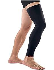 natural Hike 1estuco Deportes sin Costuras Sober Compresión Leg Sleeve, Unisex, extra-large