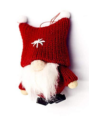 duhe189014 Weihnachten Anhänger Puppe, Wolle Kein Gesicht