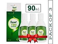 Nectarea Sweet Light Drops 90 ml Zero Calorie Sugar Free Liquid Sweetener - Pack of 3 (1800 Drops)