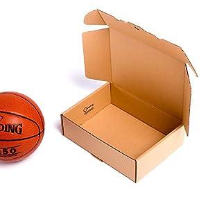 transporte de paqueteria economico: (25x) TeleCajas - Caja de cartón automontable envíos postales TCPOBOX- Varios ta...