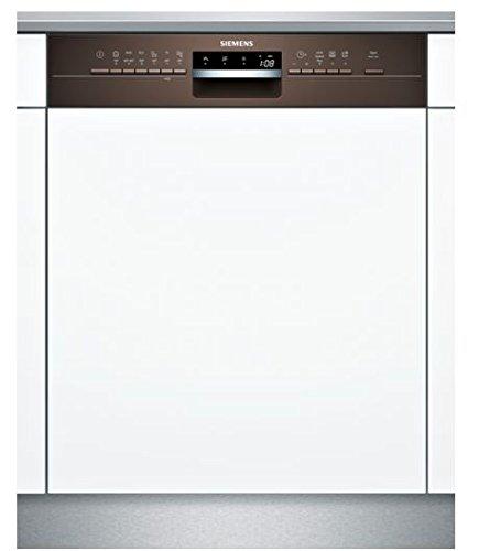 Siemens iQ300sn536m00pe Semi integrierter 13places A + + Spülmaschine-Geschirrspülmaschinen (Semi Integriert, Full Size (60cm), braun, Knöpfe, 1,75m, 1,65m) -