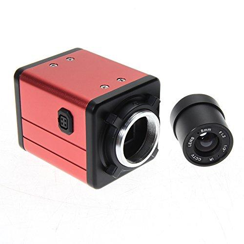 RLFS Bausatz Zoom-C Video Kamera BNC AV TV Industrial Mikroskop 14 MP Digital Digitale Kamera-tv