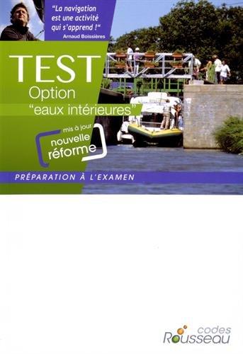 CODE ROUSSEAU TEST EAUX INTERIEURES 2015