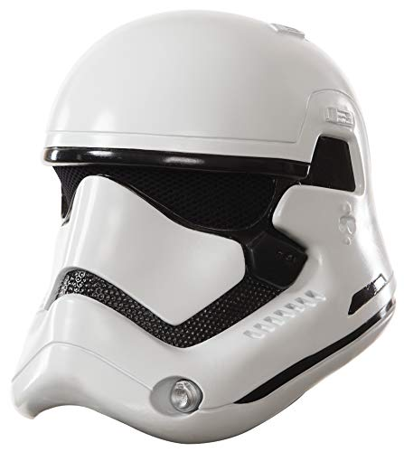 7 Wars Star Kostüm Stormtrooper - Rubie's Stormtrooper Helm Star Wars Episode 7 für Kinder