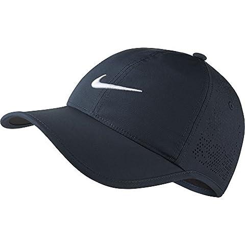 Casquette Swoosh Perforation Nike casquette de sport casquette decontractee (taille unique - bleu fonce)