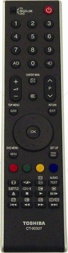 GENUINE TOSHIBA TV REMOTE CT-90307 ct90307