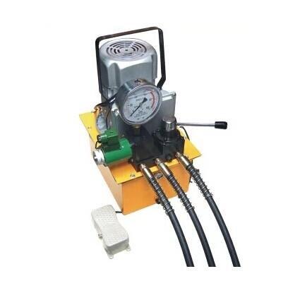 Gowe Pompe hydraulique électrique, 3 tubes soleniod Valve pompe hydraulique électrique