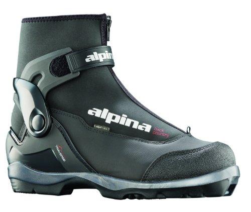 alpina Traverse wartet Nordic Langlauf Ski Stiefel, für Verwendung mit nnn-bc Bindung, Kinder, schwarz (Nnn Ski-bindungen)