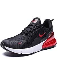 3c15b0611 GJRRX Zapatillas Deporte Hombre Zapatos para Correr Athletic Cordones Air  Cushion 3cm Running Sports Sneakers