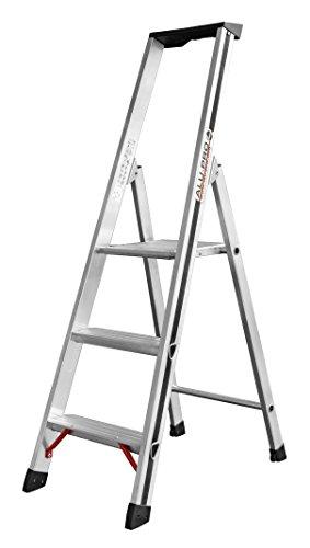 HYMER ALU-PRO 7002603 Stufenstehleiter, 3 Stufen