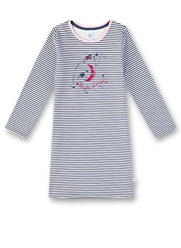 Sanetta Mädchen Nachthemd, Blau (Blue Blush 50211), (Herstellergröße: 116)