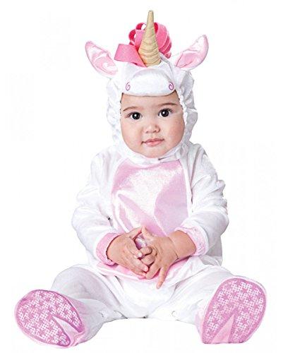 Jumpsuit Magical Unicorn Baby Kostüm-Anzug für Fasching S (Einhorn Kostüm Baby)