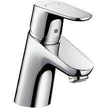 Hansgrohe Focus 70 - Mezclador monomando de lavabo con tirador y vaciador automático