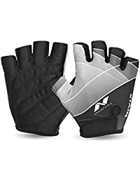 Nivia Men's Polyester and Foam Crystal Sports Gloves