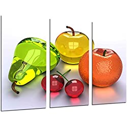 Cuadro Moderno Fotografico Composicion Frutas, 97 x 62 cm ref. 26389